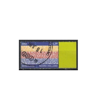 2067 Provinciezegel TAB2 (o) geel