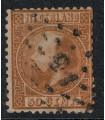 012 Koning Willem III (o) puntstempel 15 Boxtel