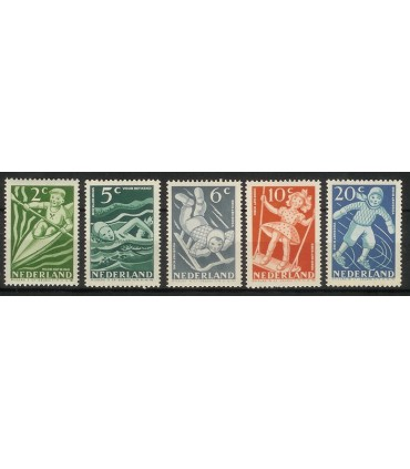 508 - 512 Kinderzegels (xx)