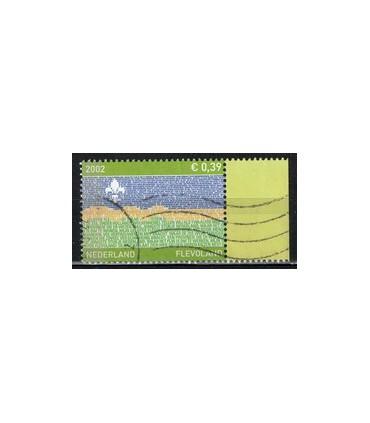 2076 Provinciezegel TAB (o) groen rechts