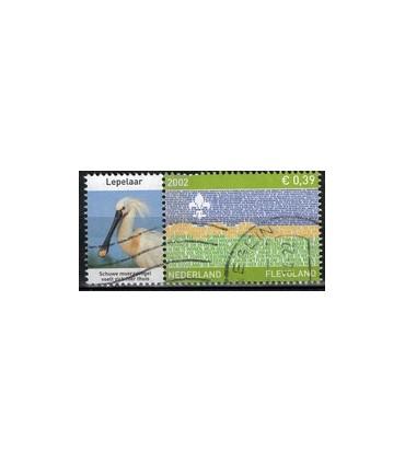 2076 Provinciezegel TAB (o) lepelaar links