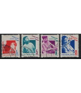 R90 - R93 Kinderzegel (o)