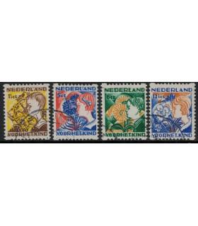 R94 - R97 Kinderzegel (o)