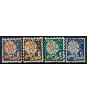 R98 - R101 Kinderzegel (o)