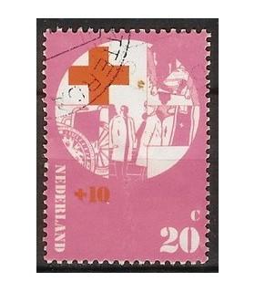 1016 Rode Kruis zegel (o)