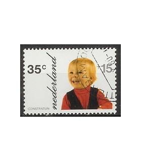 1022 Kinderzegel (o)