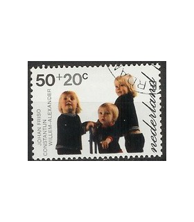 1023 Kinderzegel (o)