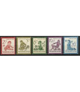 563 - 567 Kinderzegels (x)