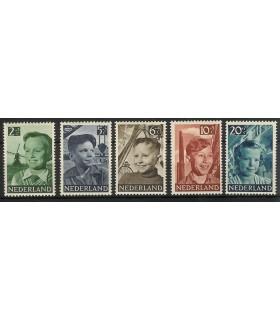 573 - 577 Kinderzegels (x)