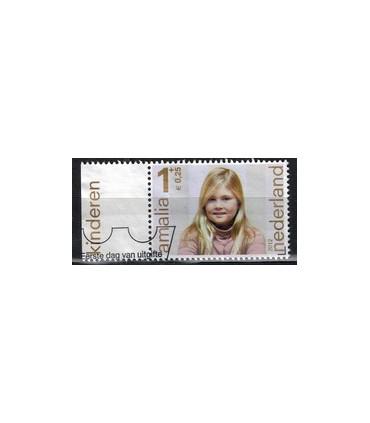 3001a Kinderzegels Amalia (o) TAB