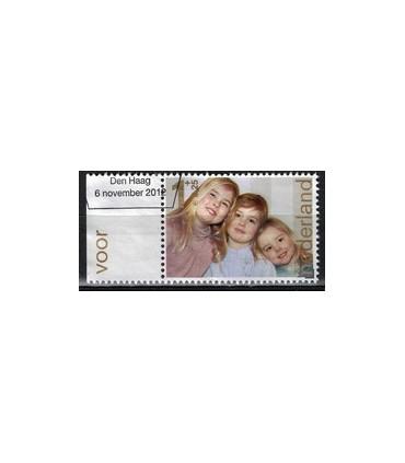 3001d Kinderzegels 3xA (o) TAB