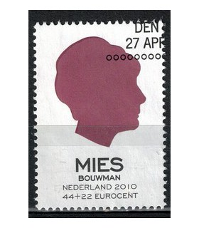 2716c Ouderenzegel Mies (o)