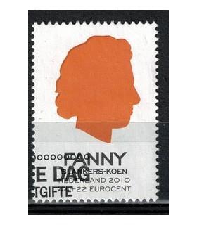 2716b Ouderenzegel Fanny (o)