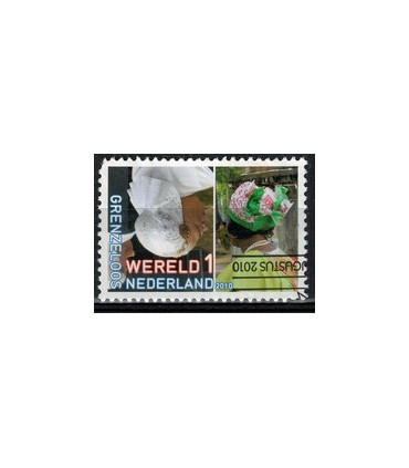 2757 Grenzeloos Nederland - Suriname (o)