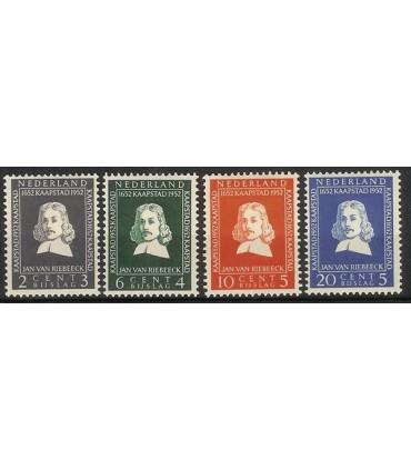 578 - 581 Riebeeckzegels (x)