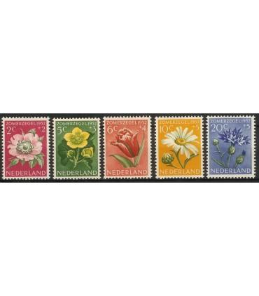 583 - 587 Zomerzegels (x)