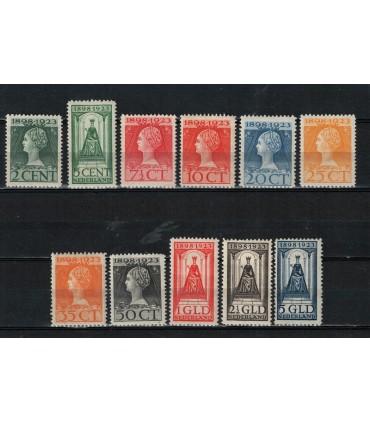 121 - 131 Jubileumzegel (x)