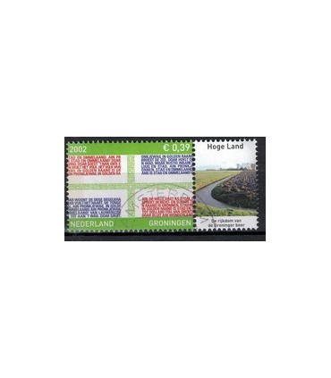 2070 Provinciezegel TAB (o) hoge land rechts