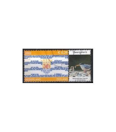 2075 Provinciezegel TAB (o) dwergstern