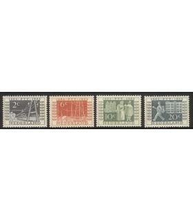 588 - 591 Jubileumzegels (xx)