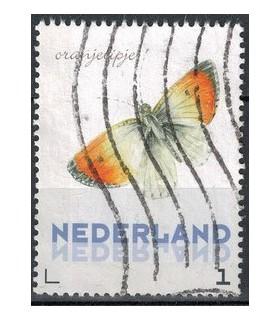 3012 Ac-02 Vlinders voorjaar Oranjevlinder (o)