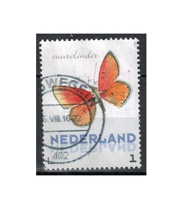 3012 Ac-04 Vlinders zomer vuurvlinder (o)