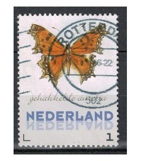 3012 Ac-08 Vlinders winter Citroenvlinder (o)