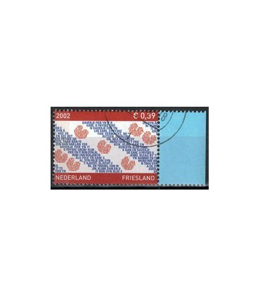 2065 Provinciezegel TAB (o) blauw rechts