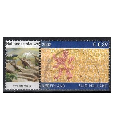 2071 Provinciezegel Hollandse Nieuwe (o)