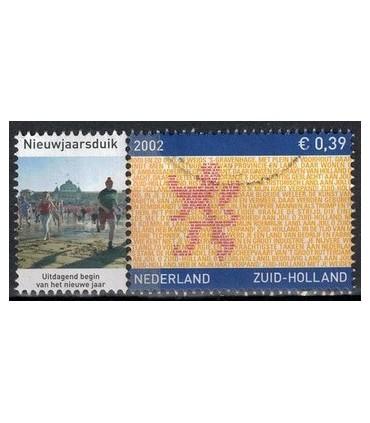 2071 Provinciezegel Nieuwjaarsduik (o)