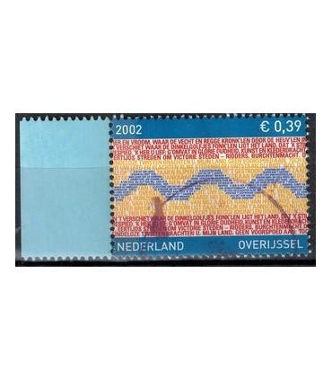 2074 Provinciezegel TAB (o) blauw