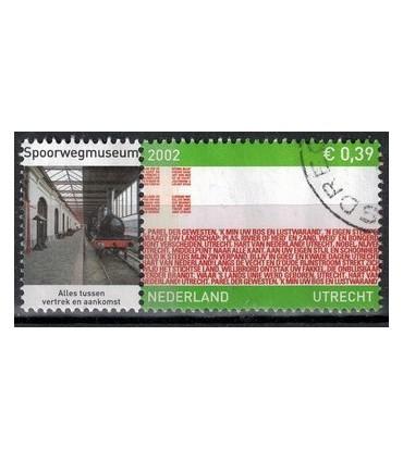 2072 Provinciezegel TAB (o) spoorwegmuseum