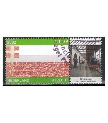 2072 Provinciezegel TAB (o) spoorwegmuseum rechts
