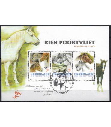3012 D25 Rien Poortvliet paarden en ponys (o)
