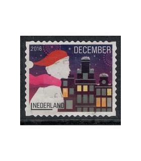 2016 Kerstzegel (o) 9.