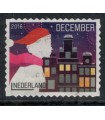 3482 Kerstzegel (o)