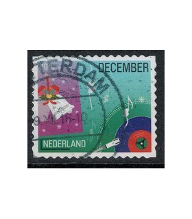 2016 Kerstzegel (o) 10.