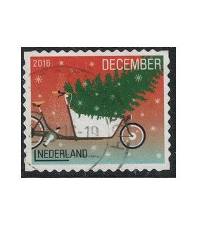2016 Kerstzegel (o) 6.