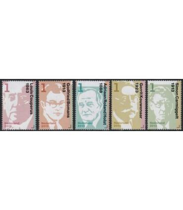 3059 - 3063 Nederlandse Schrijvers (xx)
