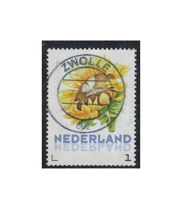 3012 Ac-05 Bloemen najaar zonnebloem (o)