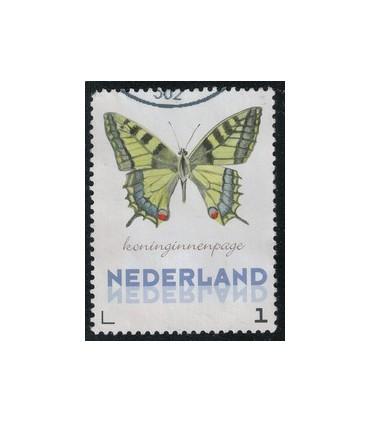 3012 Ac-06 Vlinders najaar koninginnenpage (o)
