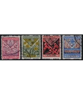 R78 - R81 Kinderzegels (o)