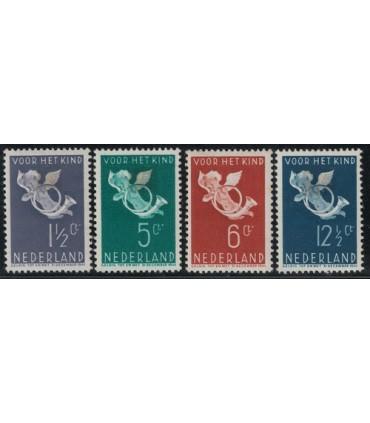 289 - 292 Kinderzegels (x) Bkeus