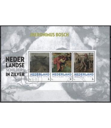 3012 D?? Nederlandse schilders in zilver (o)