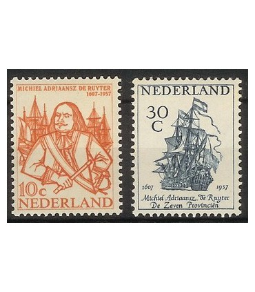 693 - 694 DeRuyter-zegels (xx)