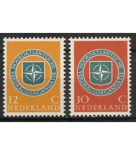 720 - 721 Navo-zegels (xx)