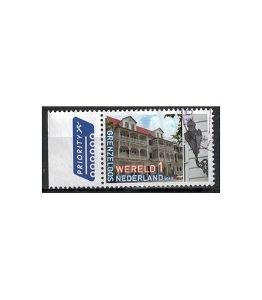 2754 Grenzeloos Nederland - Suriname (o) TAB