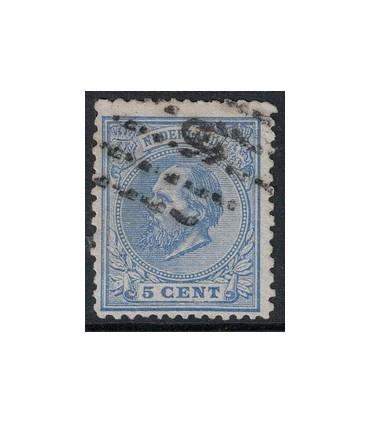 019D Koning Willem III (o)