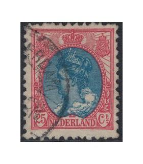 065a Koningin Wilhelmina (o)