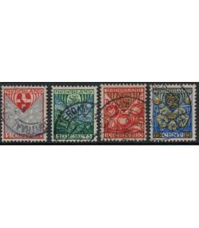 199a - 202a Kinderzegels (o)